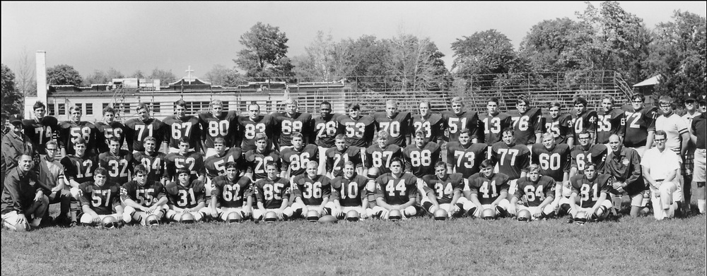 1968 Football<br /> Indiana Collegiate Conference<br /> Regular Season Champion