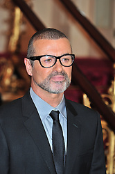 © licensed to London News Pictures. London, UK  11/05/11 George Michael announces new european tour of his new project Symphonica at the Royal Opera House  London . Please see special instructions for usage rates. Photo credit should read AlanRoxborough/LNP