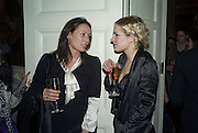 TRISHA SIMONON AND POLLY MORGAN, Tim Noble and Sue Webster: Sacrificial Heart. Gagosian . Davies St. London and afterwards Claridges. 11 December 2007. . -DO NOT ARCHIVE-© Copyright Photograph by Dafydd Jones. 248 Clapham Rd. London SW9 0PZ. Tel 0207 820 0771. www.dafjones.com.