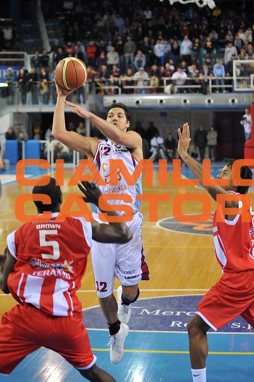 DESCRIZIONE : Rieti Lega A1 2008-09 Solsonica Rieti Bancatercas Teramo<br /> GIOCATORE : Patricio Prato<br /> SQUADRA : Solsonica Rieti<br /> EVENTO : Campionato Lega A1 2008-2009 <br /> GARA : Solsonica Rieti Bancatercas Teramo<br /> DATA : 07/12/2008 <br /> CATEGORIA : Penetrazione<br /> SPORT : Pallacanestro <br /> AUTORE : Agenzia Ciamillo-Castoria/E.Grillotti