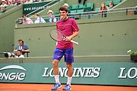 Germain GIGOUNON - 26.05.2015 - Jour 3 - Roland Garros 2015<br />Photo : Dave Winter / Icon Sport