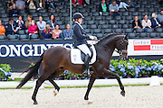Ann Christin Wienkamp - Sir Olli<br /> Longines FEI/WBFSH World Breeding Dressage Championships for Young Horses 2016<br /> © DigiShots