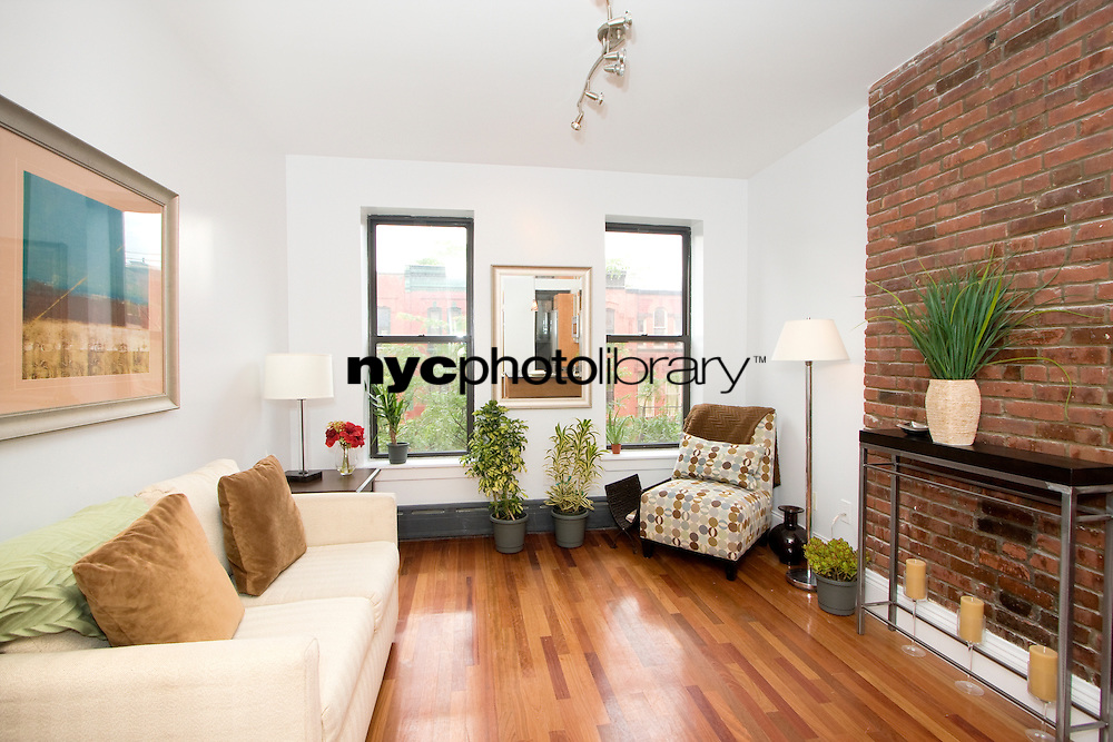 Living Room at 161 West 133rd Street