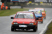 #20 Paul Brettell Ford Escort XR3i during Lee Bowron Ltd XR Challenge - Qualifiying  as part of the Easter Family Fun Day - Oulton Park Fosters at Oulton Park, Little Budworth, Cheshire, United Kingdom. March 28 2016. World Copyright Peter Taylor/PSP. Copy of publication required for printed pictures.  Every used picture is fee-liable. http://archive.petertaylor-photographic.co.uk