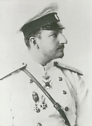 'Ferdinand I of Bulgaria (1861-1948) Prince Regnant of Bulgaria 1887-1918, Tsar of Bulgaria 1908-1918.  In private life he was a botonist, entomologist and philatelist.'