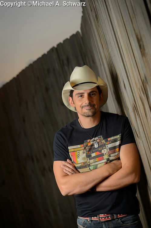Atlanta, GA. August 14, 2014. Brad Paisley at Aaron's Ampitheatre in Atlanta, GA. Photo by Michael A. Schwarz for the Washington Post.