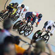 Track Cycling - Olympics: Day 11  Jason Kenny of Great Britain in a action during his gold medal winning Men's Keirin ride during the track cycling competition at the Rio Olympic Velodrome August 16, 2016 in Rio de Janeiro, Brazil. (Photo by Tim Clayton/Corbis via Getty Images)