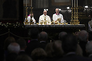 Pope Francis celebrates the Mass of the Centenary of the Congregation for Oriental Churches, at the Santa Maria Maggiore Basilica in Rome on October 12, 2017.