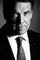 NEW YORK, NY - DECEMBER 3:  Republican Candidate for President Governor Rick Perry stands for a portrait at the Helmsley Hotel in New York City, Saturday, December 3, 2011.  (Photo by Melina Mara/The Washington Post) . ...