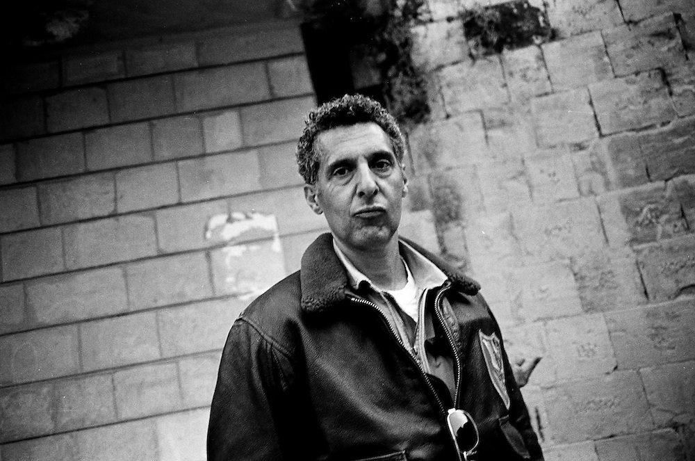 A portrait of actor John Turturro on the set of Transformers II.