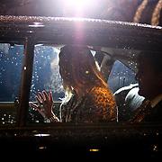 NLD/Amsterdam/20081203 - Uitreiking Prins Claus prijzen 2008, vertrek prinses Maxima en kroonprins Willem - Alexander