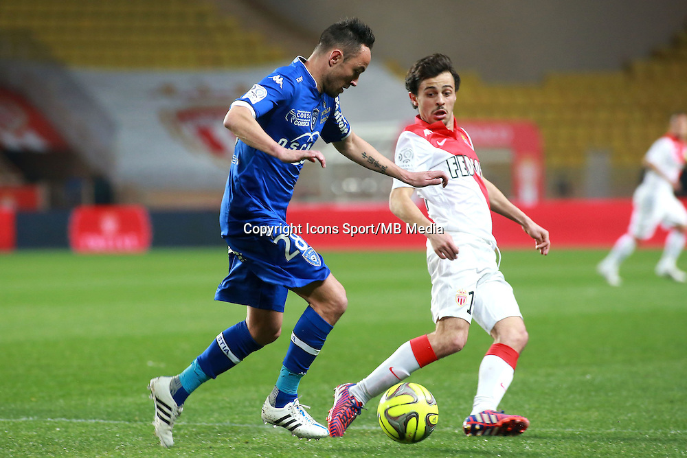 DANIC GAEL / SILVA BERNARDO - 13.03.2015 -   Monaco / Bastia -  29eme journee de Ligue 1 <br />