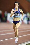 Gabriela DeBues-Stafford (CAN) places seventh in the women's 5,000m in a national record 14:44.12during the IAAF Diamond League final at the 44th Memorial Van Damme at King Baudouin Stadium, Friday, Sept. 6, 2019, in Brussels, Belgium. (Jiro Mochizuki/Image of Sport)