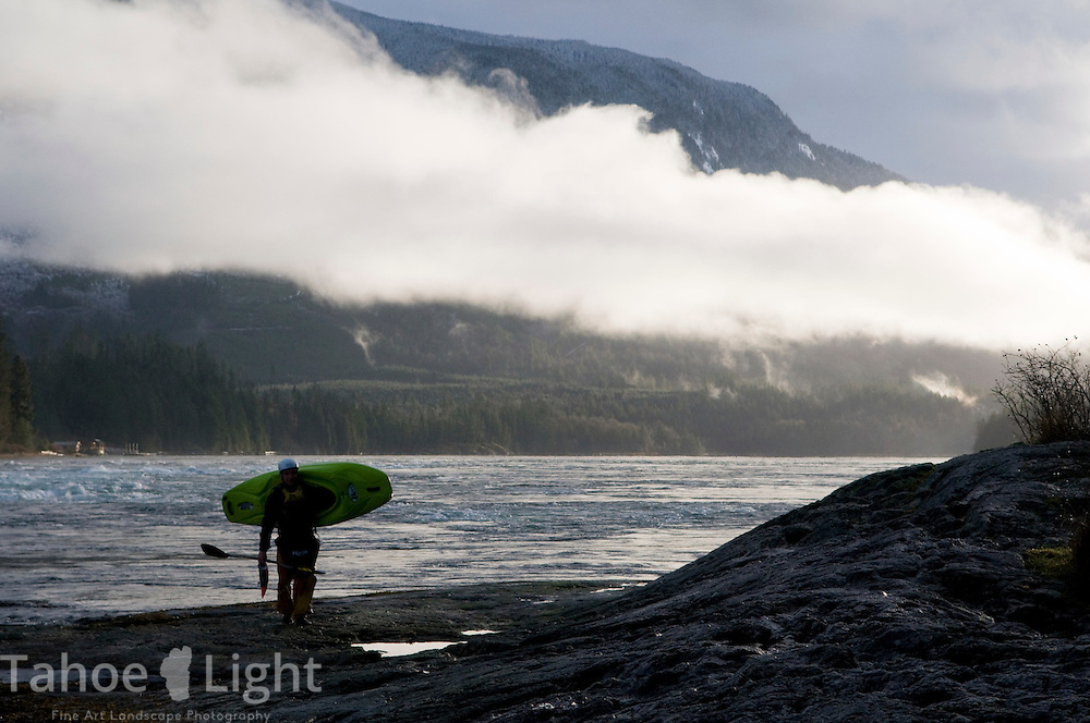 Skookumchuck wave in British Columbia