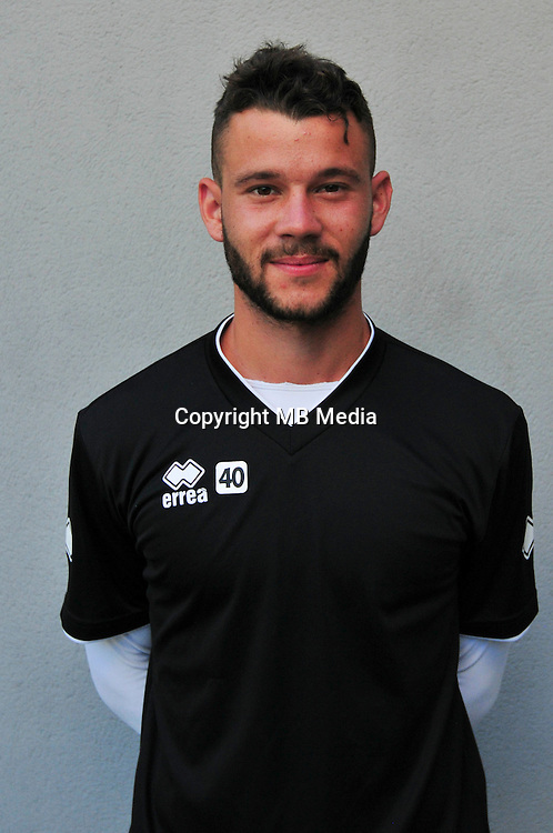 Yann Marillat - 22.07.2015 - Entrainement Nimes<br /> Photo : Philippe Lebrech / Icon Sport *** Local Caption ***