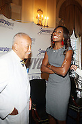 7 July 2010- New York, NY- David Dinkins and Venus Williams at book signing for her new book ' Come to Win ' at The Power Play for Empowerment of Girls held at The Yale Club as she begins her promotion of her new book ' Come to Win ' published by HarperCollins on July 7, 2010 in New York City.