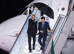 Italian Prime Minister Giuseppe Conte arrives at the airport at CFB Bagotville, Que., Canada for the annual summit of G7 leaders on Thursday, June 7, 2018. The event will be held in La Malbaie, in the Charlevoix region of Quebec. Photo by Andrew Vaughan/CP/ABACAPRESS.COM