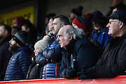 Hartlepool United fans during the EFL Sky Bet League 2 match between Crawley Town and Hartlepool United at the Checkatrade.com Stadium, Crawley, England on 14 January 2017. Photo by David Charbit.