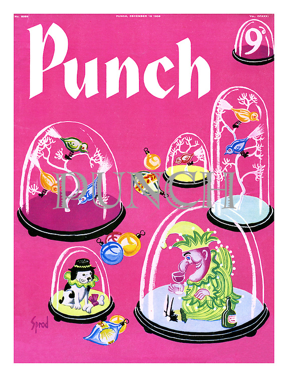 Punch cover 19 December 1956