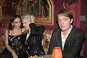 ESME CHAPMAN; RUTH CHAPMAN, Nick Cave and the Bad Seeds with The Vampire's Wife and Matchesfashion.com party to celebrate the end of their 2017 World tour. Lou lou's. Hertford St. Mayfair.