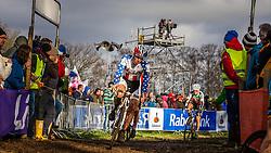 Jeremy POWERS (14,USA) 2nd lap at Men UCI CX World Championships - Hoogerheide, The Netherlands - 2nd February 2014 - Photo by Pim Nijland / Peloton Photos