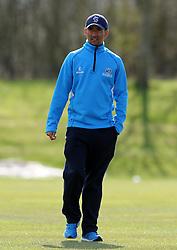 Somerset's Alfonso Thomas - Photo mandatory by-line: Harry Trump/JMP - Mobile: 07966 386802 - 24/03/15 - SPORT - CRICKET - Pre Season Fixture - Day 2 - Somerset v Glamorgan - Taunton Vale Cricket Club, Somerset, England.