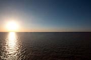 Punta Rasa, Argentina...Por do sol no Rio Prata em Punta Rasa, Argentina...The sunset in Prata river in Punta Rasa, Argentina...Foto: LEO DRUMOND / NITRO