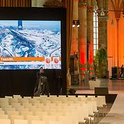 NLD/Den Haag/20180323 - Huldiging Olympische en Paralympische medaillewinnaars, overzichtfoto de grote kerk