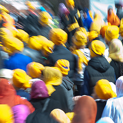 Tens of thousands of Sikhs gather in Southall, also known as 'Little India', to celebrate Nagar Kirtan.