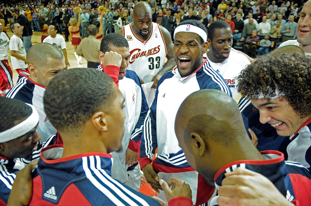 Feb 9, 2010; Cleveland, OH, USA; \ during the first second quarter against the \ at Quicken Loans Arena. Mandatory Credit: Jason Miller-US PRESSWIRE