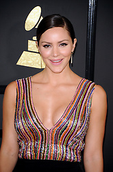 Katharine McPhee at the 59th GRAMMY Awards held at the Staples Center in Los Angeles, USA on February 12, 2017.