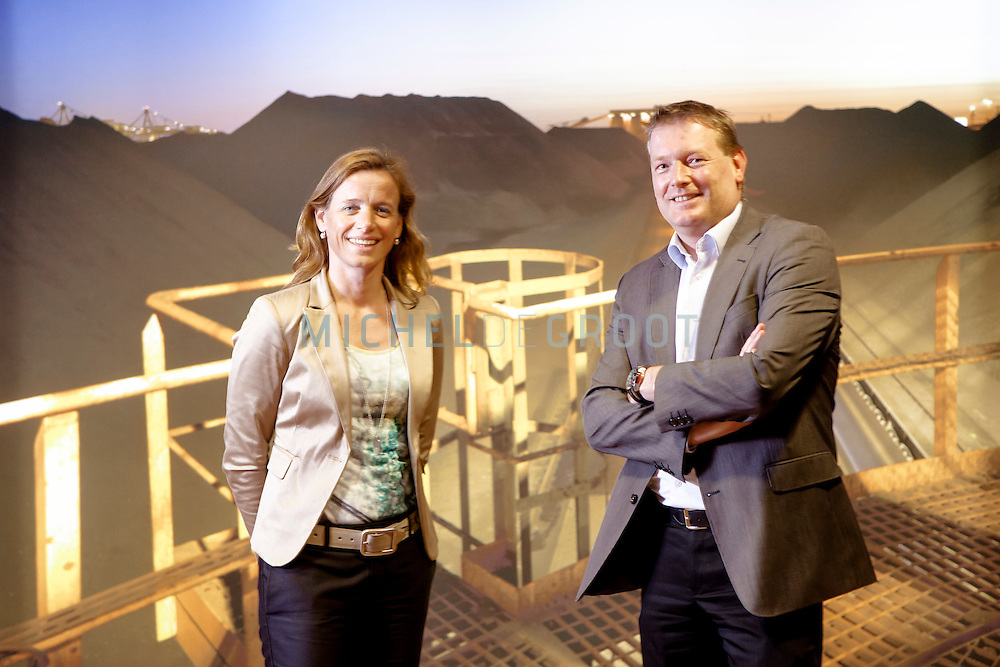 Nicole van Klaveren en Joris Hurenkamp , Port of Rotterdam