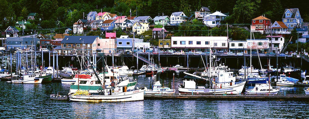 Fishing Village, Saskatacan, Alaska