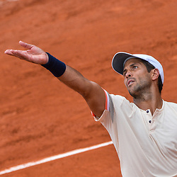 Fernando Verdasco of Spain during Day 6 of the French Open 2018 on June 1, 2018 in Paris, France. (Photo by Baptiste Fernandez/Icon Sport)