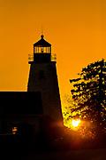 Dyce Head Lighthouse, Castine, Maine, USA
