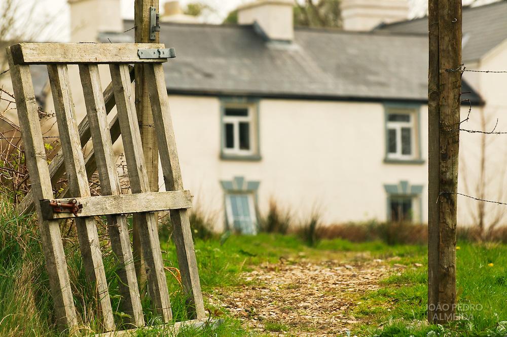 An house at rural Ireland at Connemara