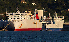 Wellington - Interim ferry arrives