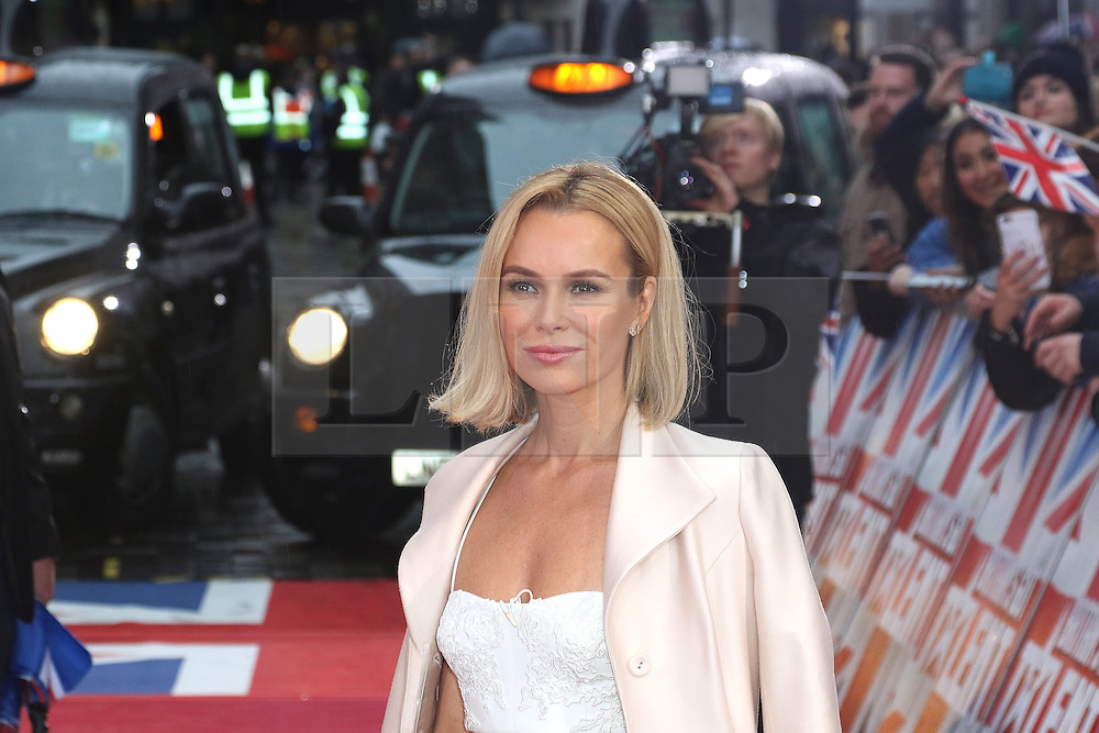 © Licensed to London News Pictures. 29/01/2017. London, UK, Amanda Holden, Britain's Got Talent - London photocall, Photo credit: Richard Goldschmidt/LNP