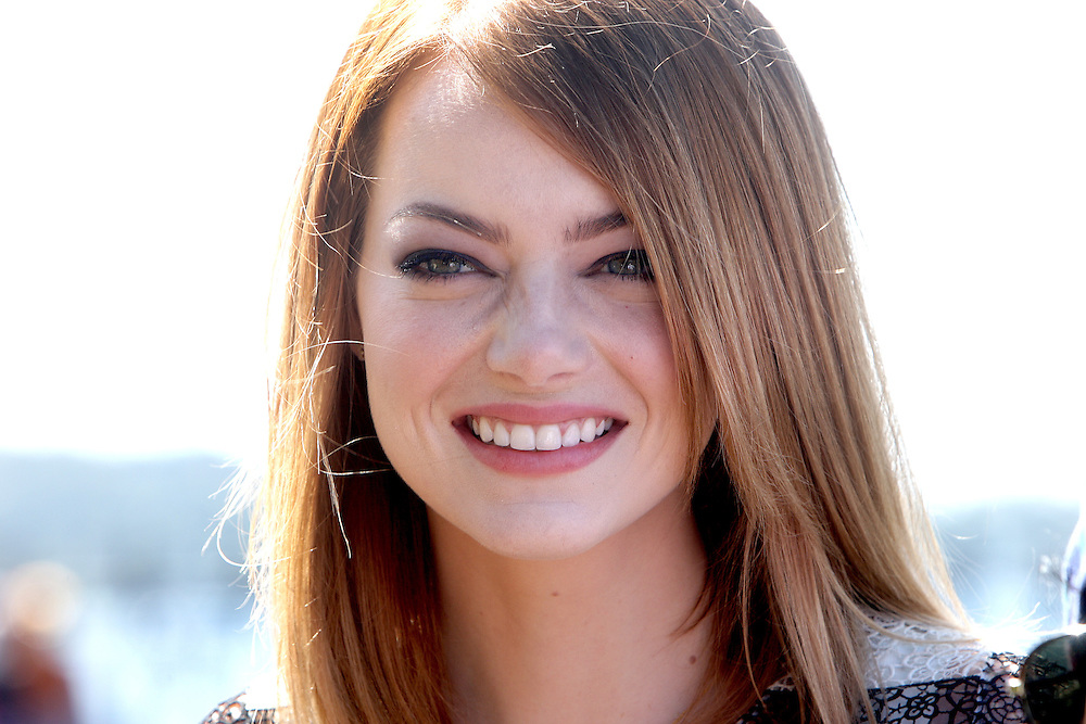 Emma Stone in Sydney for the <br />
