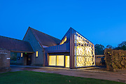 Medway Crematorium, Kent, UK. New Chapel by Clay Architecture, 2013