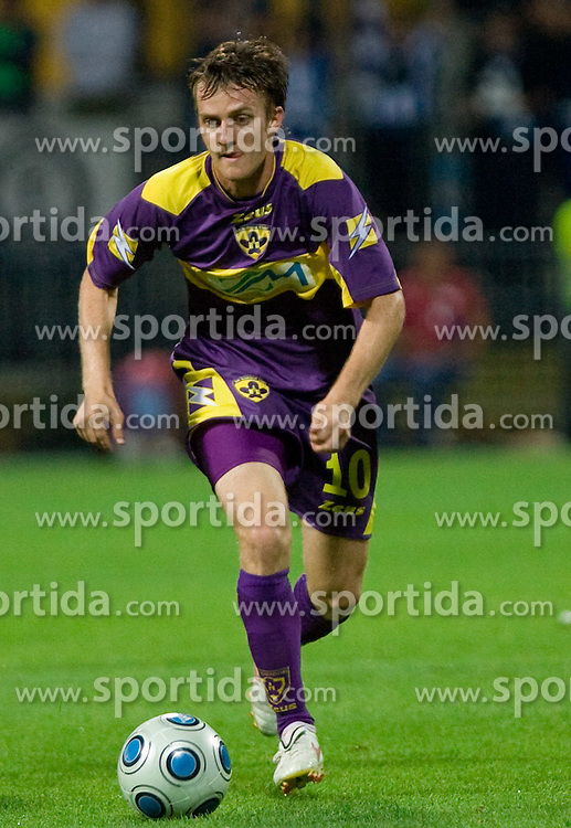 Rene Mihelic of Maribor at Third Round of Champions League qualifications football match between NK Maribor and FC Zurich,  on August 05, 2009, in Ljudski vrt , Maribor, Slovenia. Zurich won 3:0 and qualified to next Round. (Photo by Vid Ponikvar / Sportida)