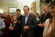 WILLIAM BLACKER, Party to celebrate the publication of 'Along the Enchanted Way' by William Blacker. Hosted by the Blacker family. 2 Belgrave Sq. London. 12 November 2009.