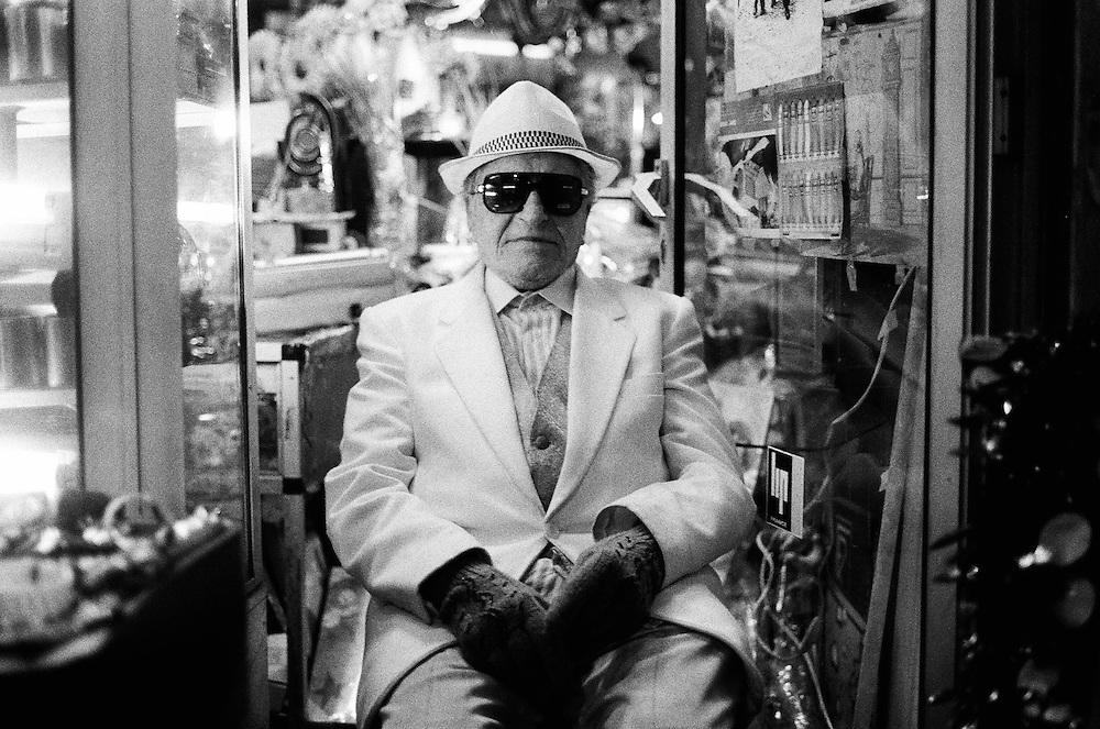 Shopkeeper, Paris