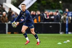 Jamie Shillcock of Worcester Warriors during the pre match warm up - Mandatory by-line: Craig Thomas/JMP - 27/01/2018 - RUGBY - Sixways Stadium - Worcester, England - Worcester Warriors v Exeter Chiefs - Anglo Welsh Cup