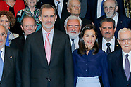 061319 Spanish Royals attend the Presidency of the Plenary of the Royal Spanish Academy