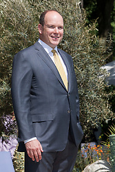 © licensed to London News Pictures. LONDON, UK  23/05/2011. Chelsea Flower Show, Press Day. His Serene Highness Prince Albert II of Monaco. Please see special instructions for usage rates. Photo credit should read Bettina Strenske/LNP