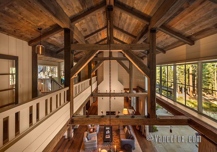 Martis Camp Home 100, Martis Camp, Truckee, Ca by Heslin Construction. Vance Fox Photography