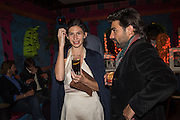 RACHEL NORECE; MATTEO DEMBECH, Gazelli host The Colbert Art Party last night at  LouLou's, The Bauer in Venice, Venice Biennale, Venice. 7 May 2015
