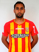 Ahmed KANTARI - 29.10.2014 - Portrait Lens - Ligue 1 -<br /> Photo : Icon Sport