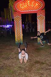 Latitude Festival 2017, Henham Park, Suffolk, UK. Guest camping area